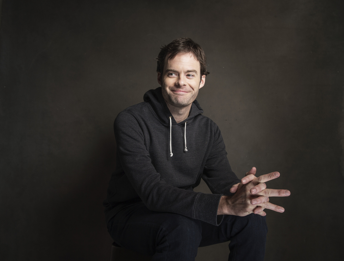 Bill Hader poses for a portrait at Quaker Good Energy Lodge with GenArt and the Collective , during the Sundance Film Festiva