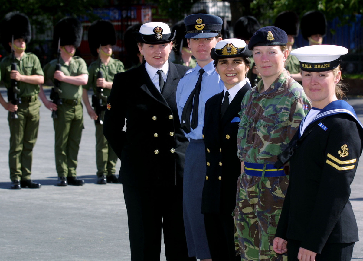 In May 2014, three women became submariners for the first time in the navy's 110-year history. A ban on women submariners bas