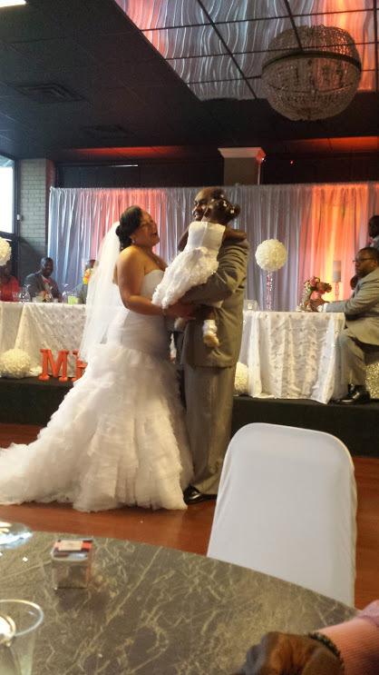 """My cousin's wedding in Memphis, Tenn. Mr. and Mrs. George (Misty) Winton."" - Tonya Davidson"