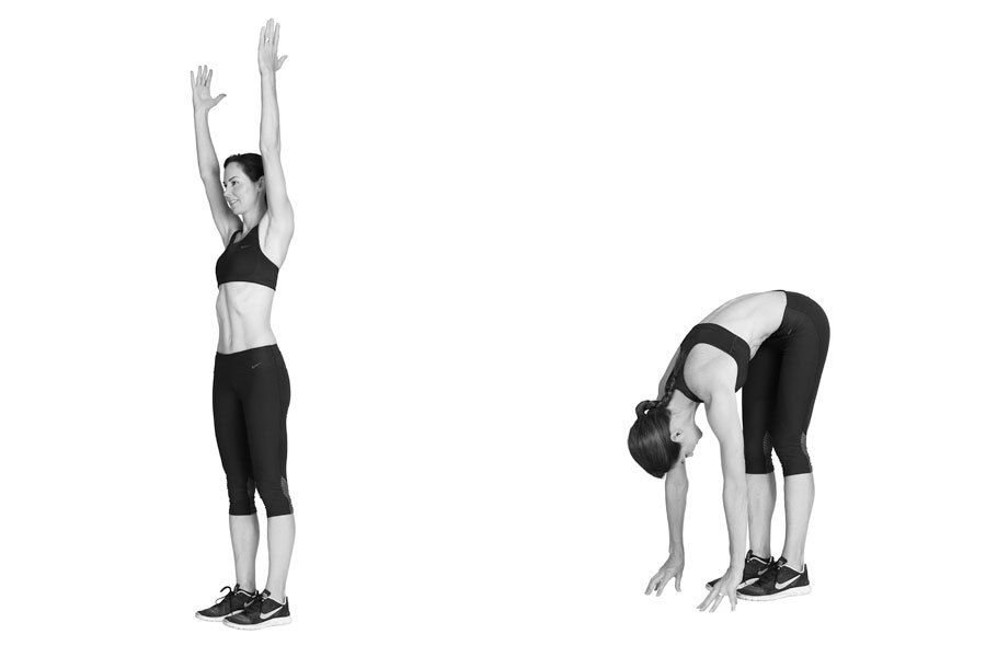 The inchworm plank helps to awaken your muscles, working both flexibility and strength. And if you're not very flexible, it's