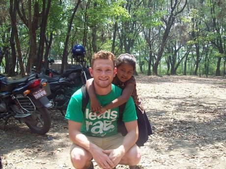 Richard Mayne pictured in April 2014 in Nepal.