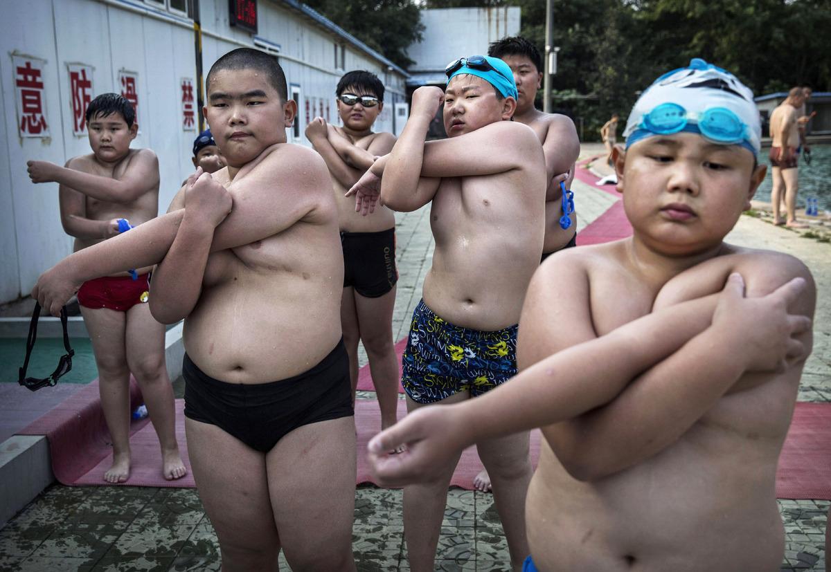 lesson chubby swim