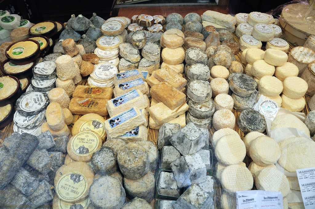 That's a lot of cheese. Some claim that France makes even more than that  -- close to 1,000 -- because of all the varieties w