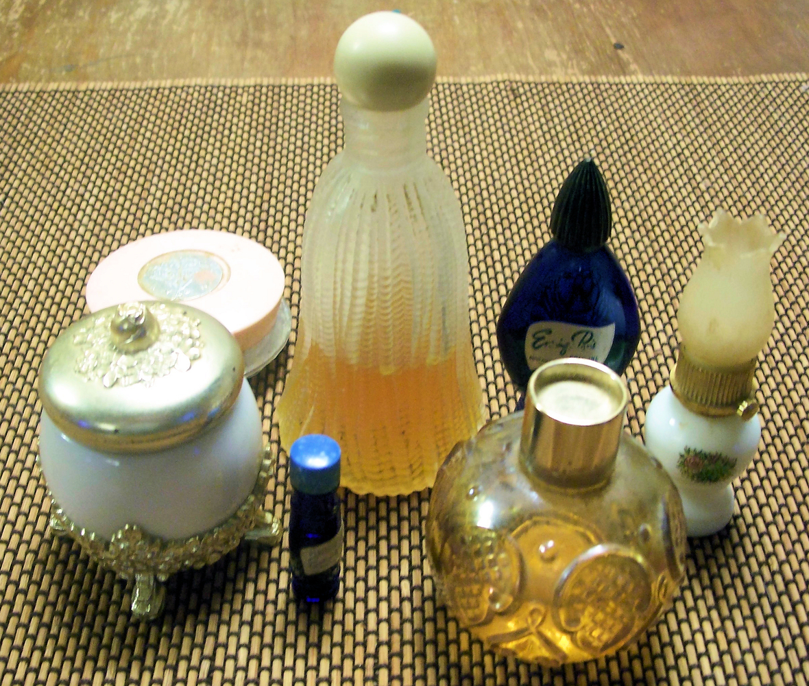 "You could get away with beautiful vintage perfumes if the bottle is nice enough... not the ""old Bath and Body Works rip-off"""