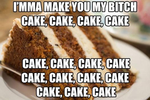 "-- Rihanna's ""Birthday Cake"""