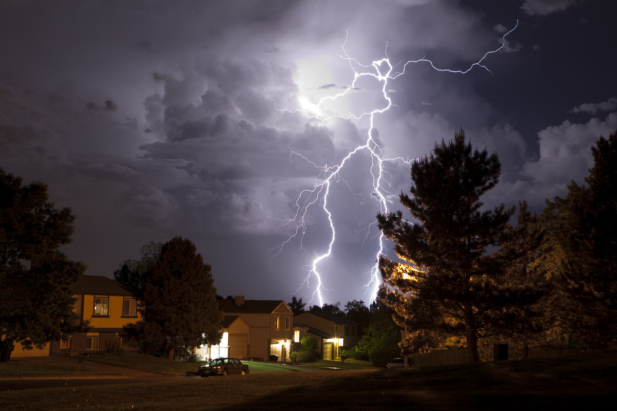 """<strong>Why It's A Threat:</strong>  Summer lightning storms can cause home fires that <a href=""""https://www.disastersafety.or"""