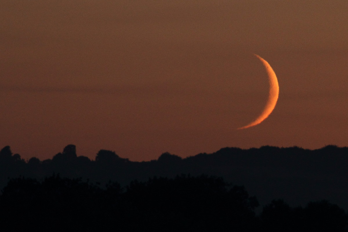 <strong>Moon Sighting</strong>  A new moon signals the end of Ramadan and the beginning of the next month of the Islamic cale