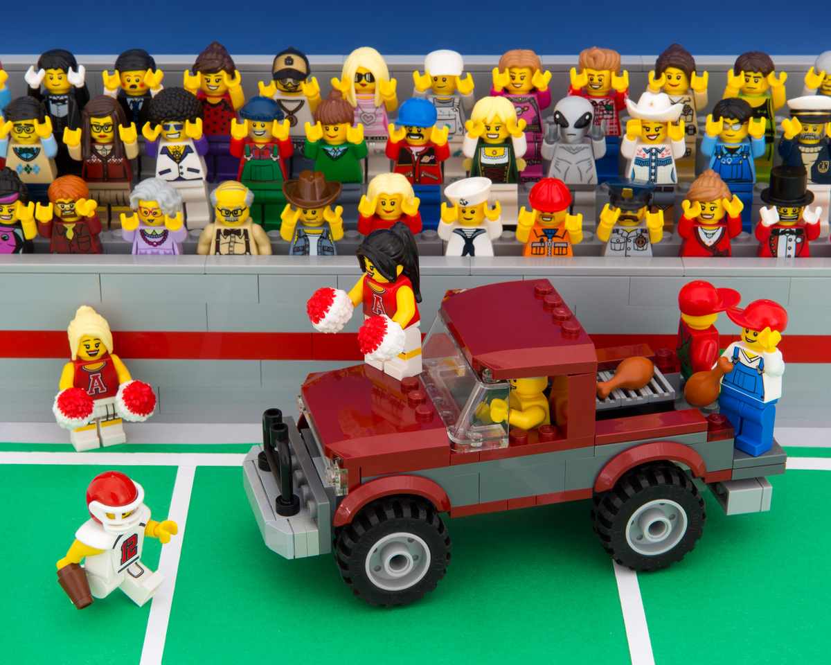 Jeff Friesens Mini Stereotypes Of LEGO America Are Coming To A - State stereotypes alabama
