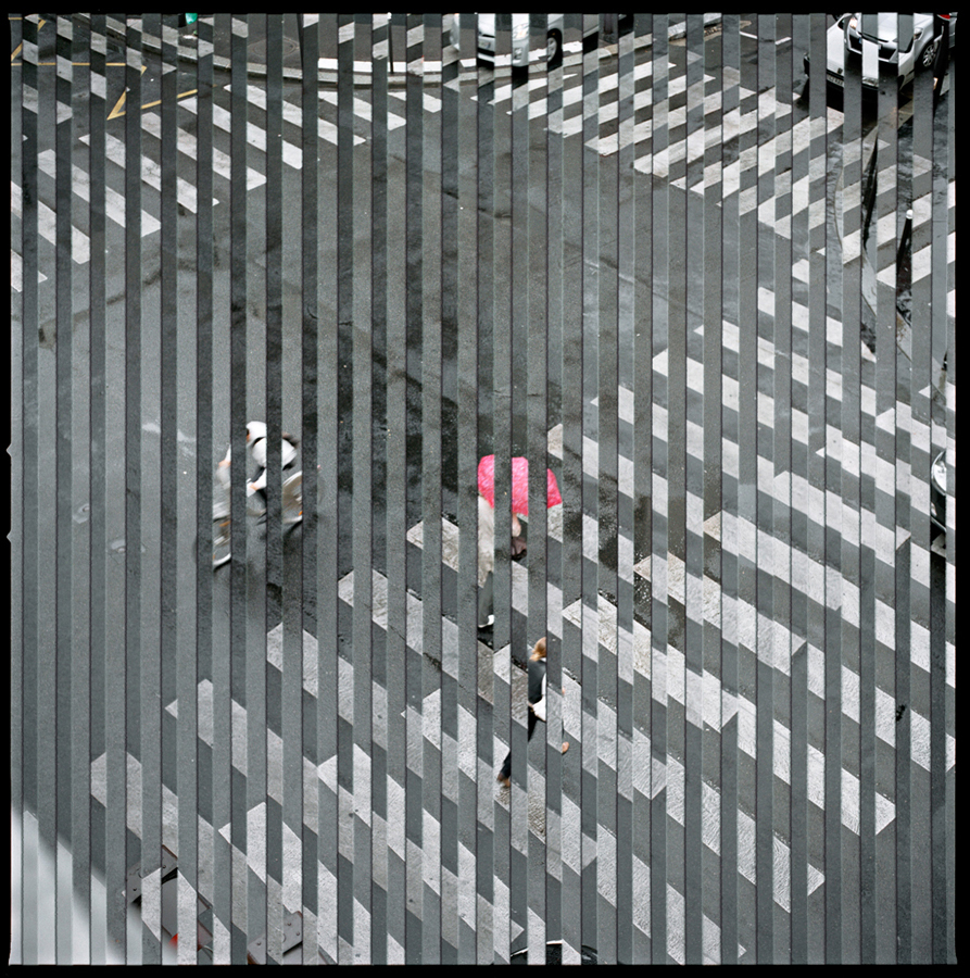 Crosswalk (from the Quantum Blink series), Chromogenic Print, 2011