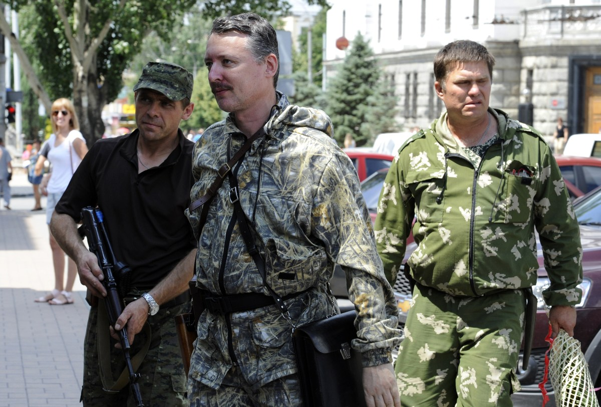 """Commander and self-proclaimed minister of defence of so the called 'Donetsk People's Republic' Igor Girkin <a href=""""http://ww"""