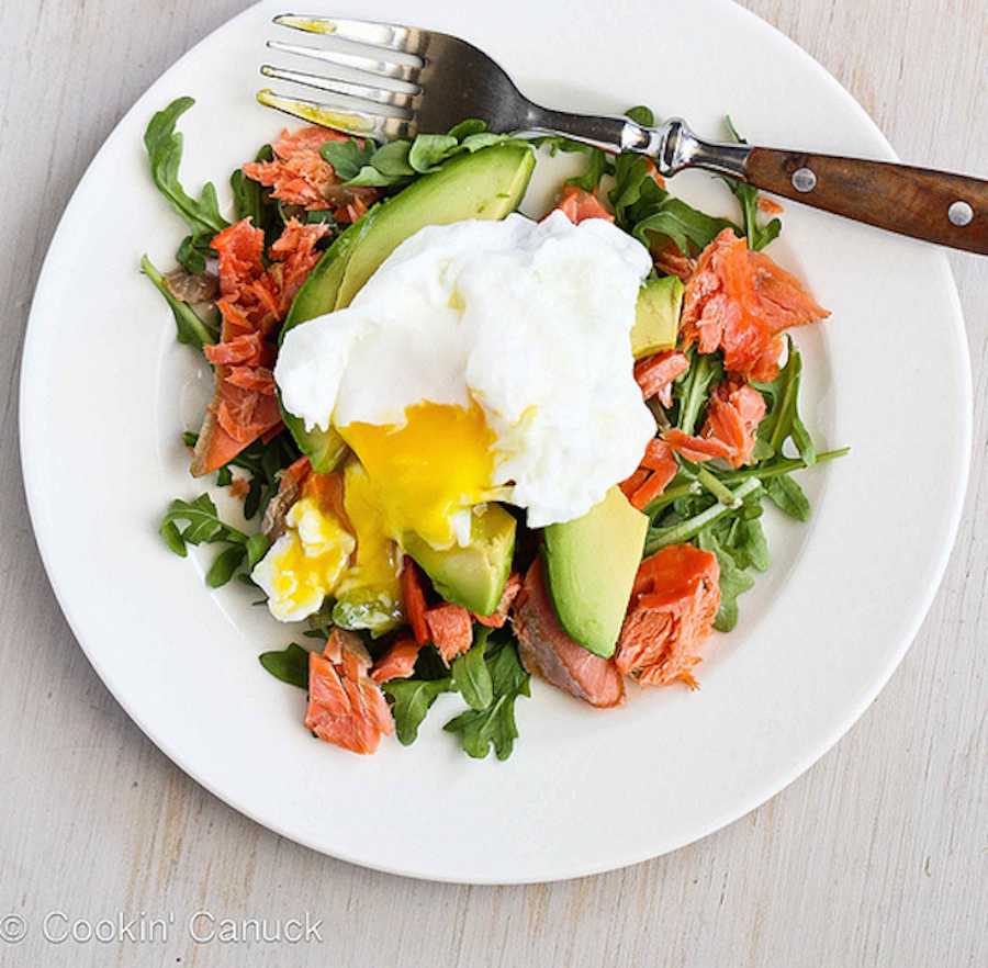"""<strong>Get the <a href=""""http://www.cookincanuck.com/2013/05/poached-eggs-over-avocado-smoked-salmon-giveaway/"""" target=""""_blan"""