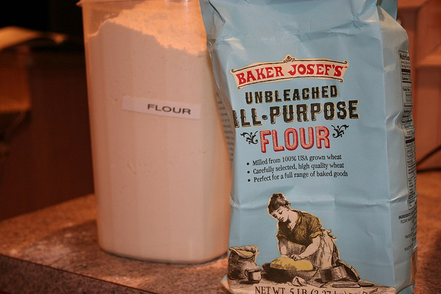 """You may opt for all-purpose flour for convenience's sake, but <a href=""""http://www.yumsugar.com/Alton-Brown-Tips-Perfect-Panca"""