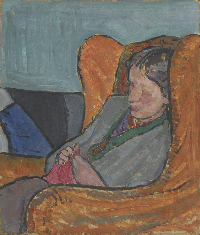 Virginia Woolf by Vanessa Bell, c.1912 © National Portrait Gallery, London