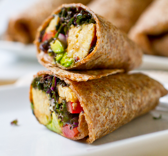 """<strong>Get the <a href=""""http://kblog.lunchboxbunch.com/2012/07/kale-avocado-wraps-w-spicy-miso-dipped.html"""" target=""""_blank"""">"""