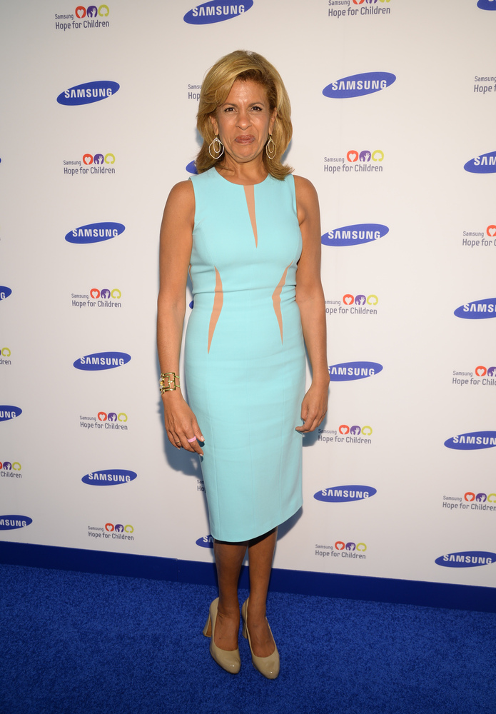 Hoda Kotb attends the 13th Annual Samsung Hope For Children Gala at Cipriani Wall Street on Tuesday, June 10, 2014 in New Yor