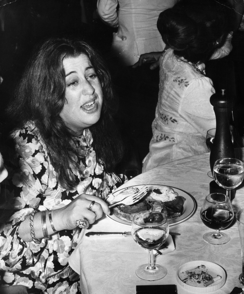 Heavy-set singer Cass Elliot, better known by her stage name Mama Cass of the Mama and the Papas, was said to have died from