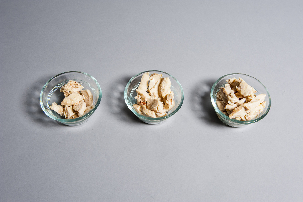 Perdue Grilled Chicken Breast, Plain  <br> This lean protein provides a lot of nutrients <em>and</em> a lot of volume per cal