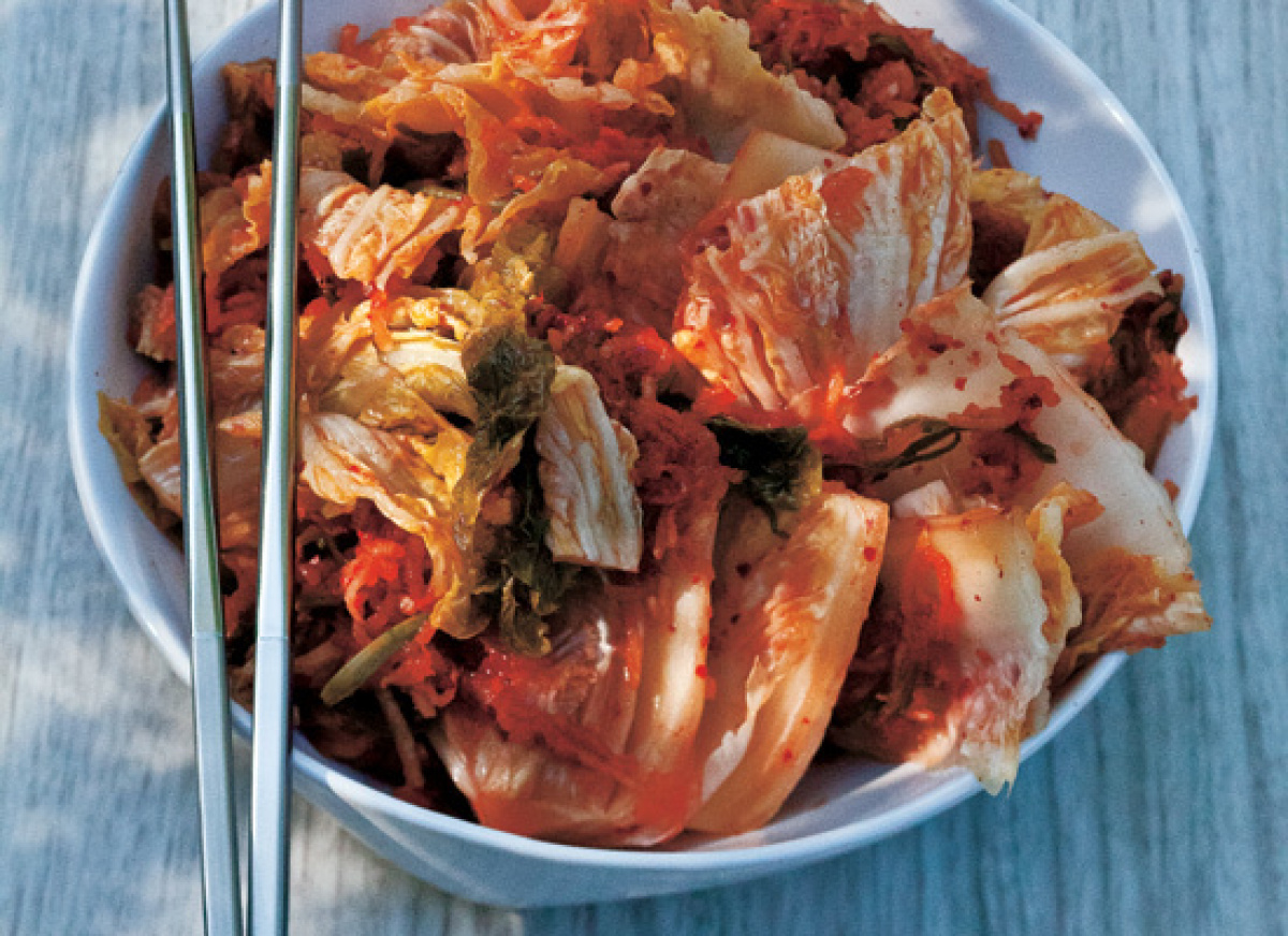 Kimchi is the foundation for so many Korean dishes and this one is the classic recipe. It always starts off with Napa cabbage