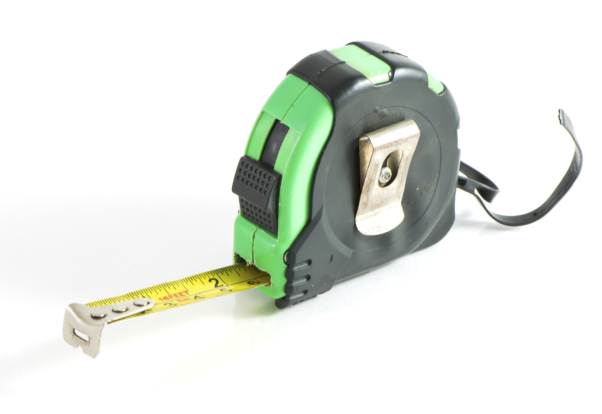 """""""Get your measuring tape out and start taking measurements,"""" says Rebecca. """"Will your new piece fit through the door or windo"""