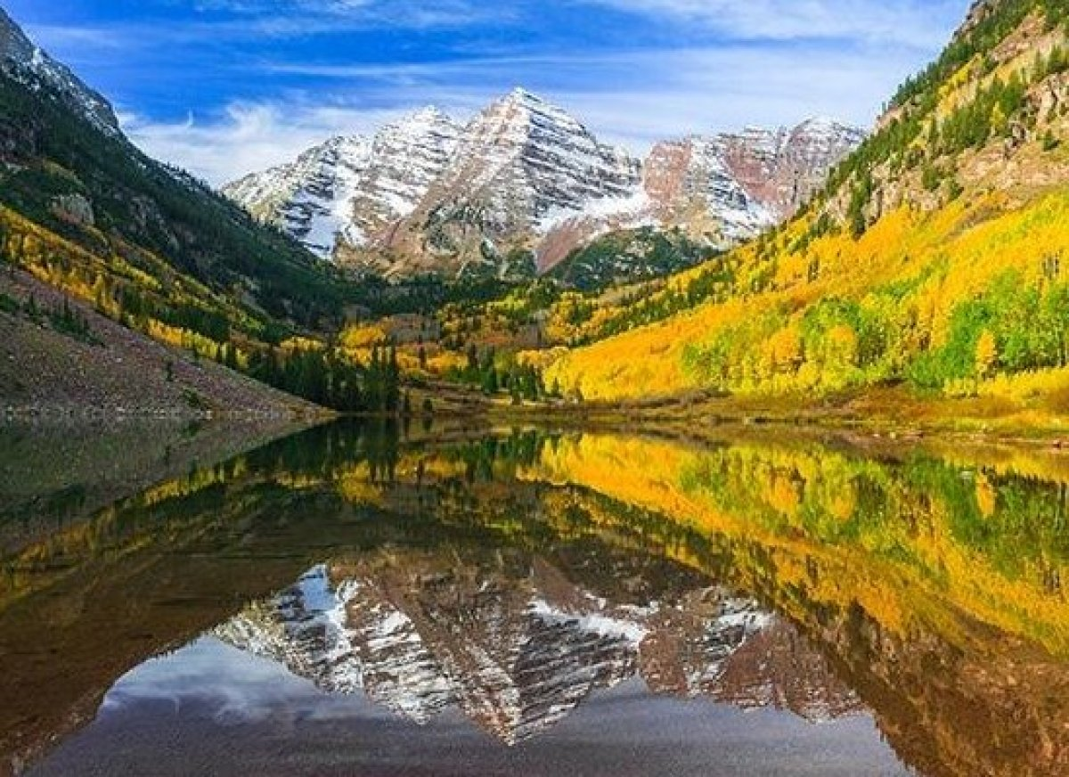 <em>Photo Credit: Lorcel / Shutterstock</em><strong>Where</strong>: Aspen, Colorado  After a 13-mile hike in the Rockies, i