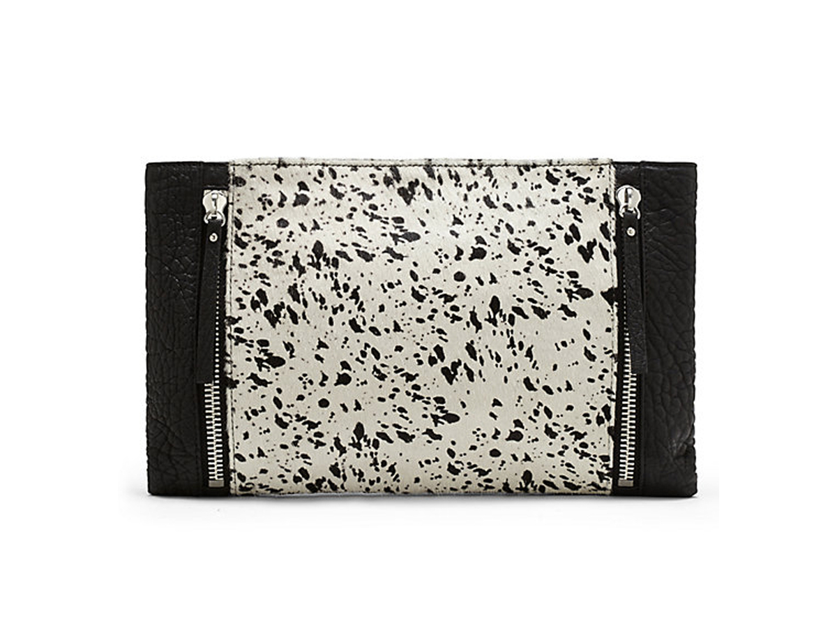 """<a href=""""http://www.vincecamuto.com/baily-clutch/886742180862.html"""" target=""""_blank"""">Vince Camuto Baily Clutch</a>, $198"""