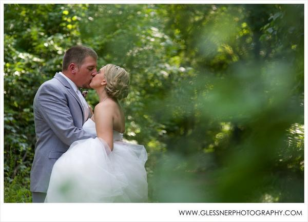"""Ann Marie and Austin were married this weekend in Winston-Salem, NC."" - Glessner Photography"