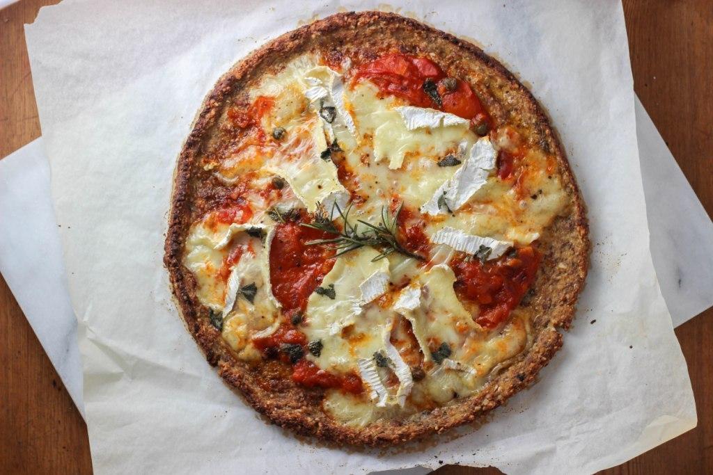 "<strong>Get the <a href=""http://independentkitchen.co.uk/gluten-free-pizza/"" target=""_blank"">Cauliflower Pizza Crust</a> reci"