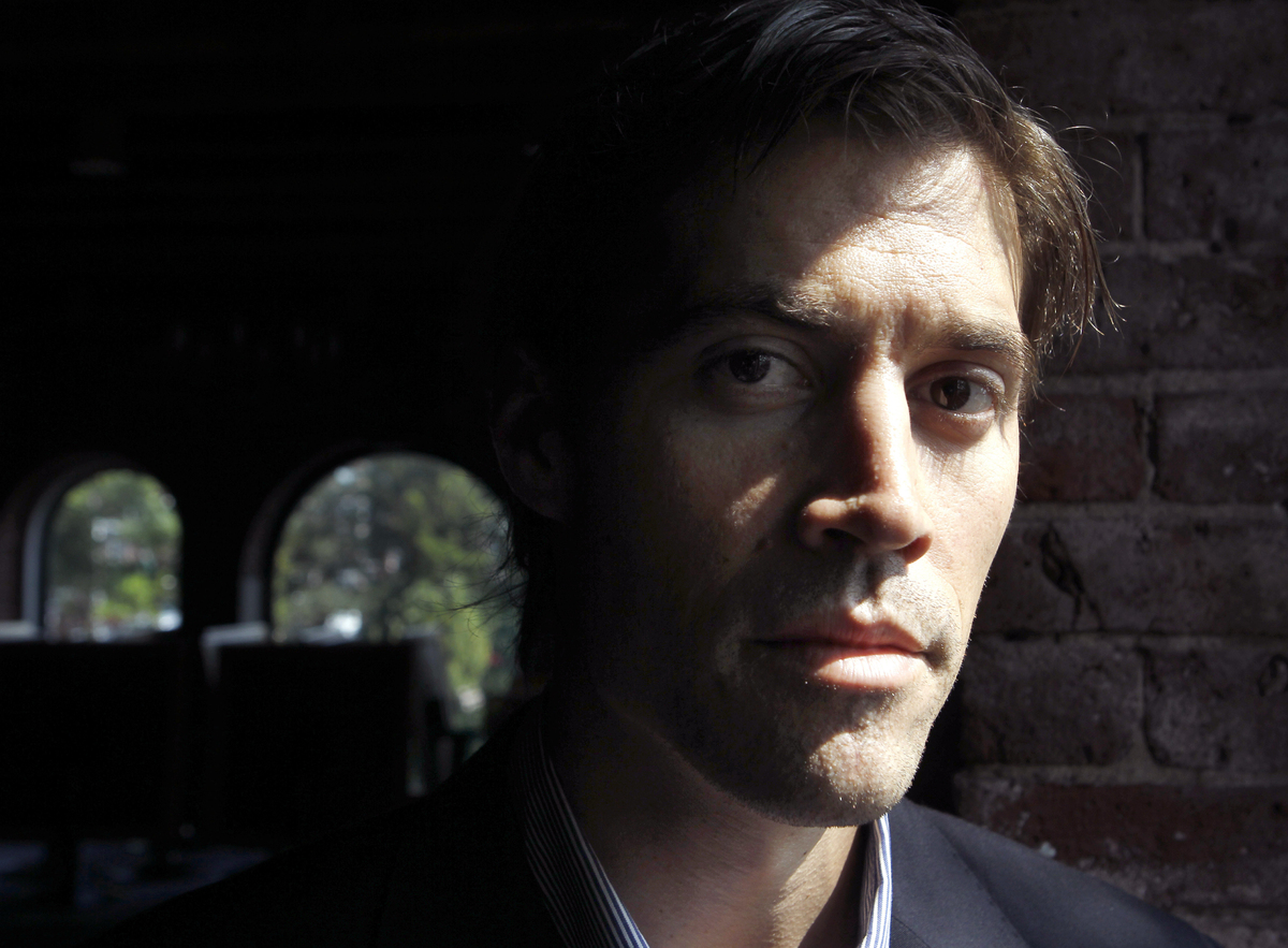 American Journalist James Foley, poses for a photo in Boston.