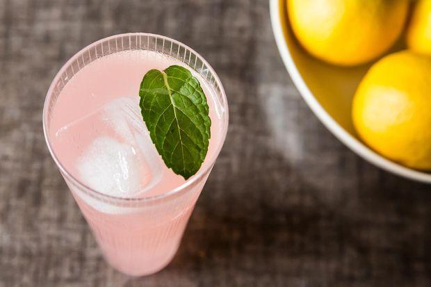 "<strong>Get the <a href=""http://food52.com/recipes/4146-sparkling-rhubarb-lemonade"" target=""_blank"">Sparkling Rhubarb Lemonad"