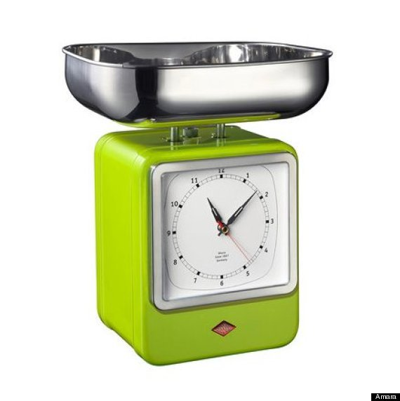 "<a href=""http://us.amara.com/products/lime-green-retro-scale-with-clock?utm_source=google&utm_medium=cpc&amss=1s9&pdg=1471910"