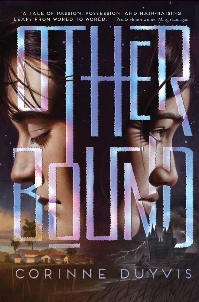 """""""Original and compelling; a stunning debut. (Fantasy. 14 & up)""""  Worlds collide as two teens fight for their lives.  <a href="""
