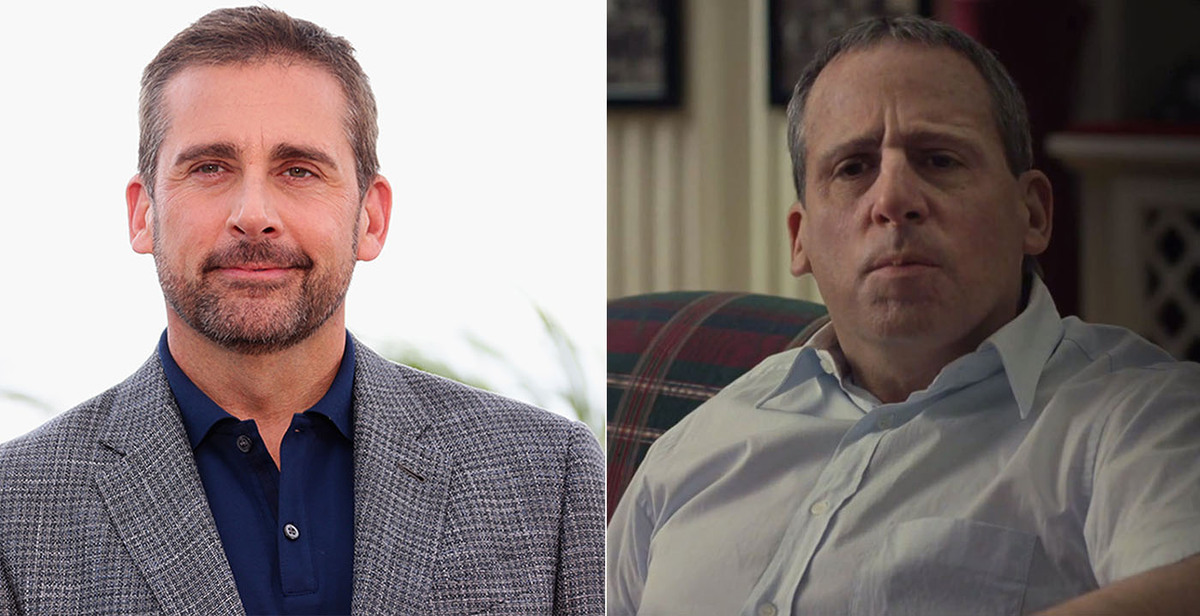 Carell plays millionaire and coach John du Pont in the 2014 film, which is based on the true story of Mark Schultz, an Olympi