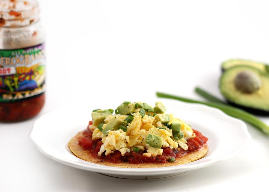 "<strong>Get the <a href=""http://www.hummusapien.com/chickpea-flour-breakfast-pizza/"">Chickpea Flour Breakfast Pizza</a> recip"