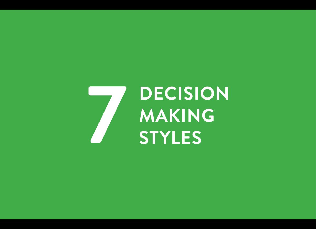 Whats your style? From the new book: <em>Yes or No: How Your Everyday Decisions Will Forever Shape Your Life</em> <em>by Jeff