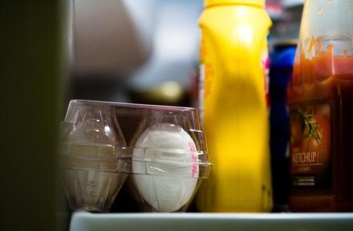 If it doesn't need to be kept cold, keep it out of the fridge. Unopened bottles of water, tea, soda or shelf-stable items lik