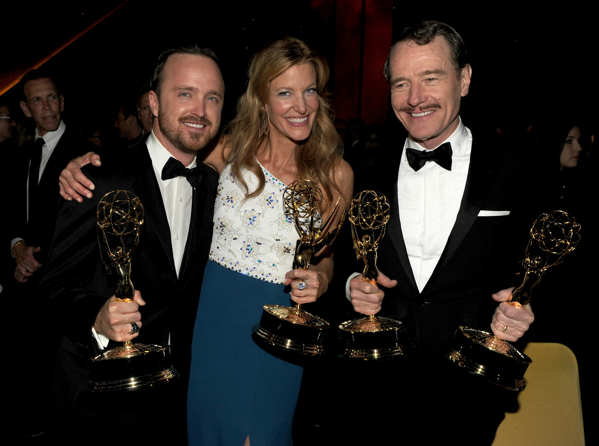 At the 66th Annual Primetime Emmy Awards Governors Ball held at Los Angeles Convention Center on August 25.