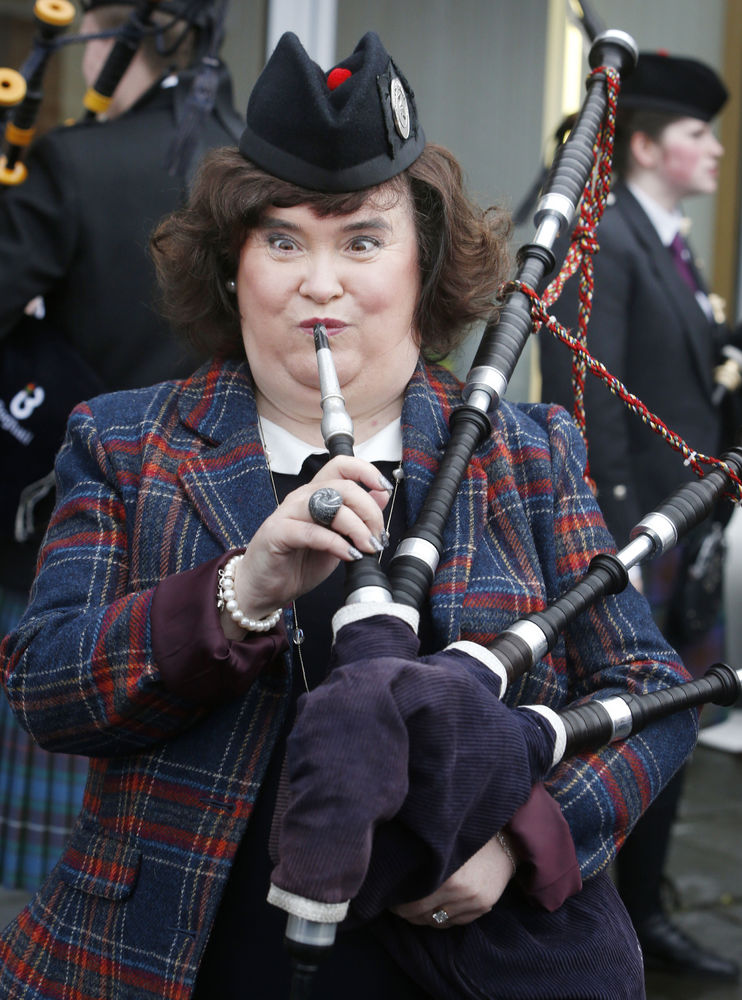 """An invite to the launch of Susan Boyle's new album went<a href=""""http://www.huffingtonpost.com/2012/11/21/susan-boyle-anal-bum"""
