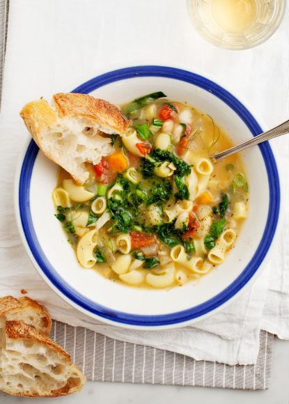 """<strong>Get the <a href=""""http://www.loveandlemons.com/2013/04/18/soup-au-pistou/"""" target=""""_blank"""">Soup Au Pistou recipe</a> f"""