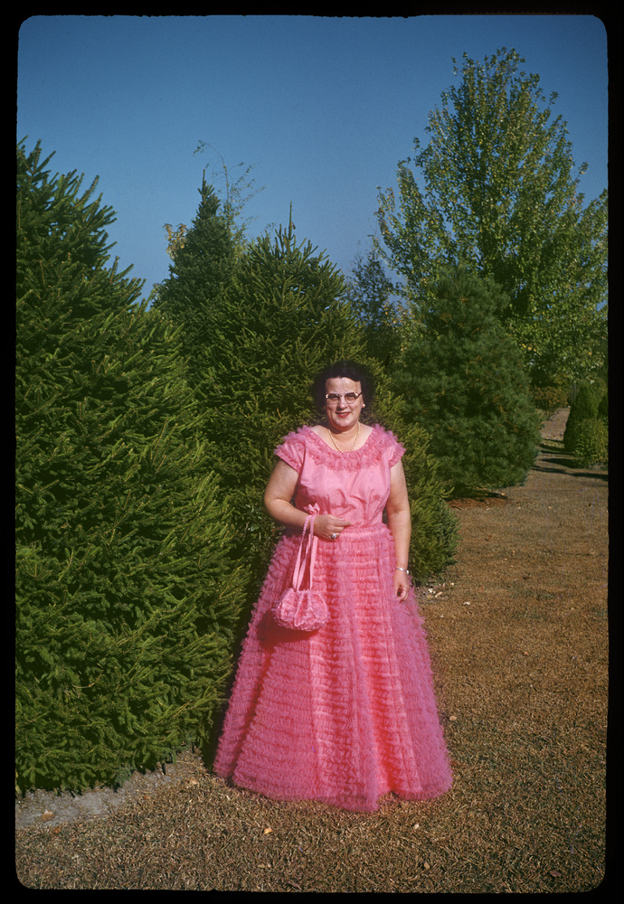 Enda in Pink Ball Gown