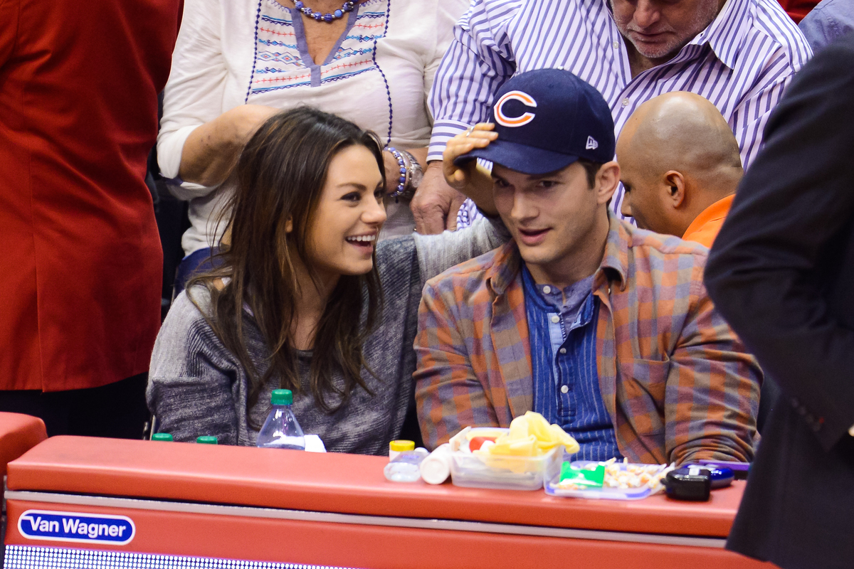 Kunis is expecting her first child with fiance Ashton Kutcher.