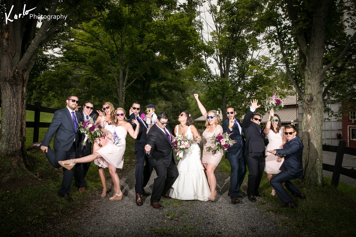 """Terra and Alex's wedding in Deep Creek Lake, MD. Turn down for what!"" - Karlo"