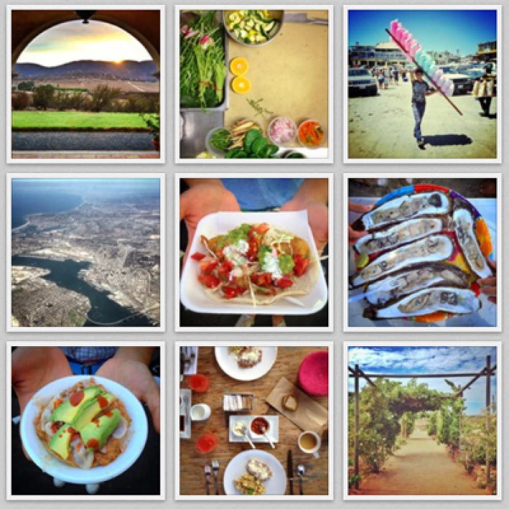 Software engineer turned photographer Adam Goldberg chronicles his travels and eats through his photos on Instagram to the en