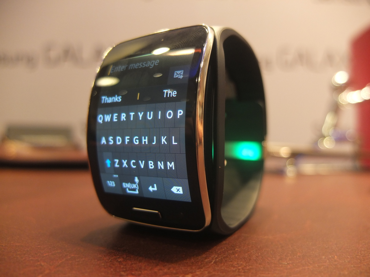 It also features a full QWERTY keyboard for replying to messages - hope you have dainty fingers.