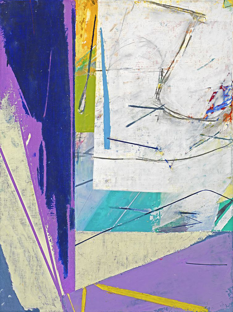 Eve Aschheim doesn't simply paint abstractly; she argues, almost polemically, for the inherent power and presence of abstract