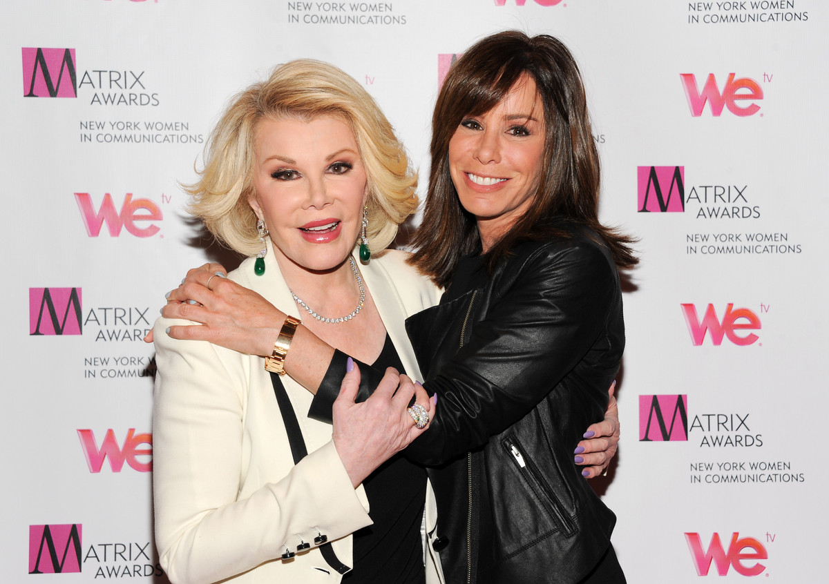 Iconic Photos Of Joan And Melissa Rivers Through The Years | HuffPost