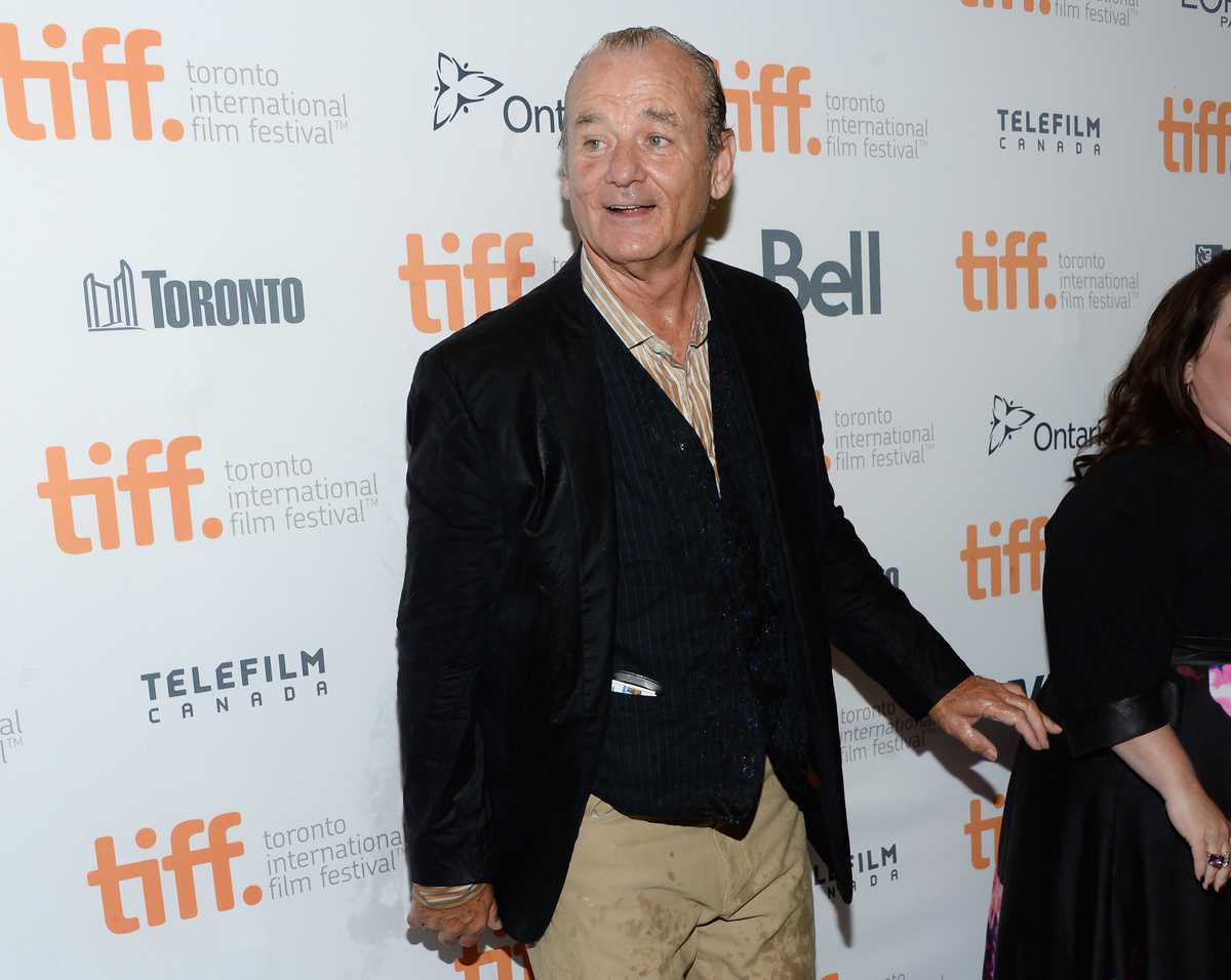 """Actor Bill Murray arrives at the """"St. Vincent"""" premiere during the Toronto International Film Festival on Friday, Sept. 5, 20"""