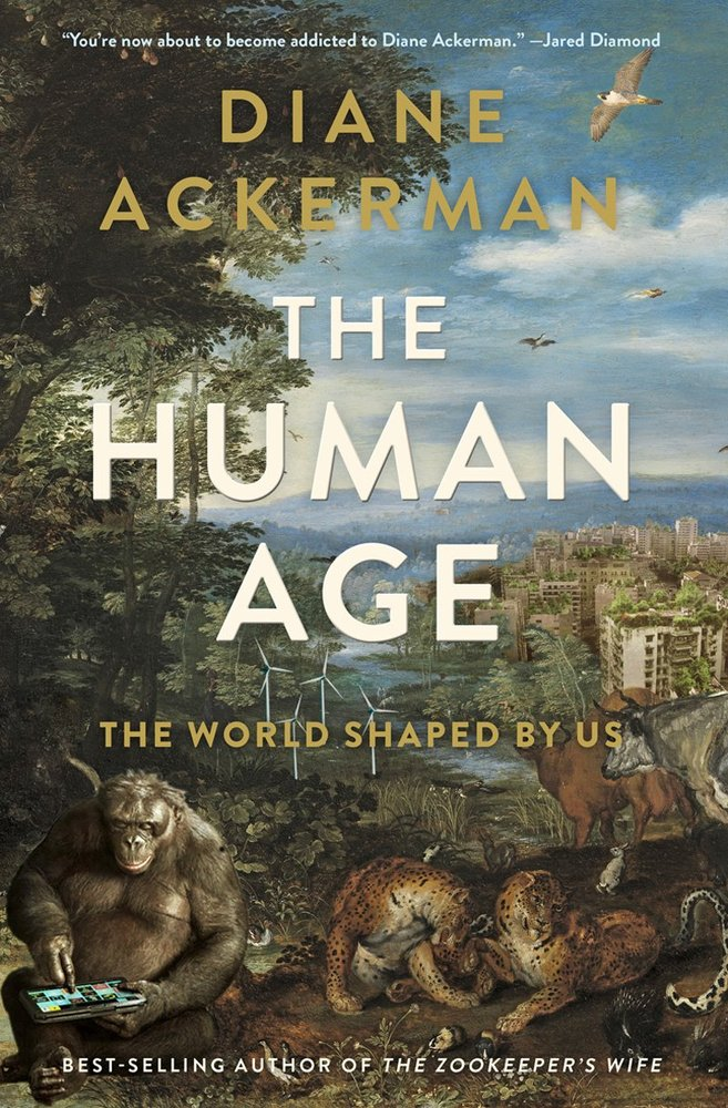 Ackerman addresses a currently vogue topic, the Anthropocene—the geologic age humans have shaped by altering the world's ecos