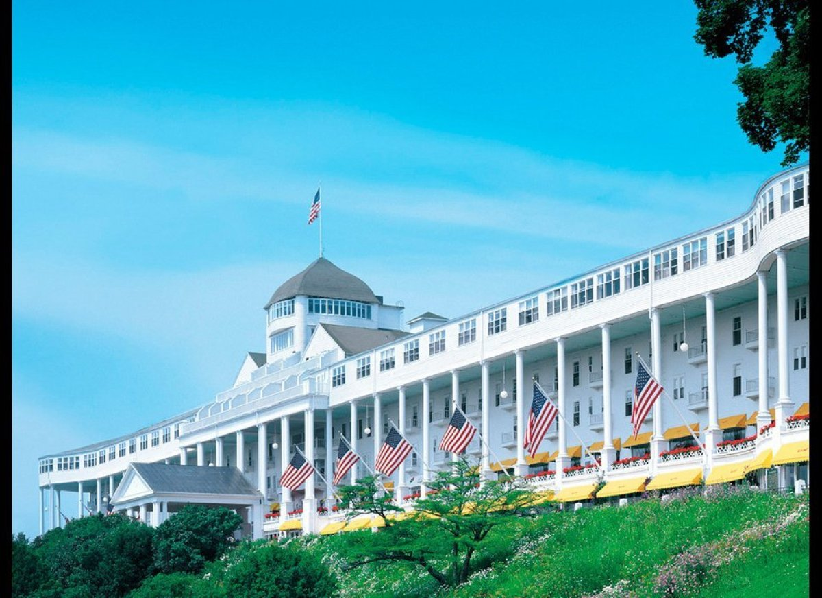 American splendor is an understatement when describing the Grand Hotel—a sprawling, 386-room resort on Michigan's gorgeous Ma