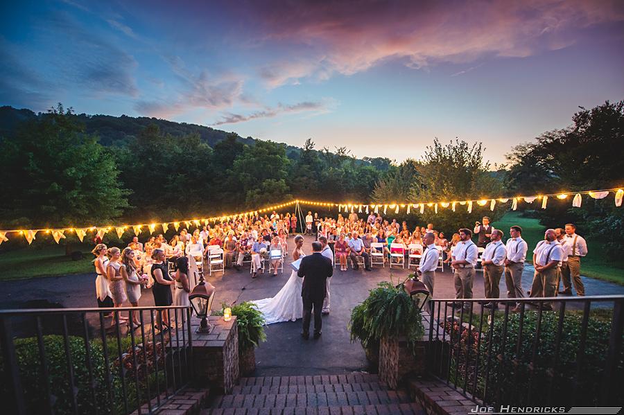 """Hana and Seth Mahon got married at a beautiful private estate in Franklin, Tenn."" - Joe Hendricks"