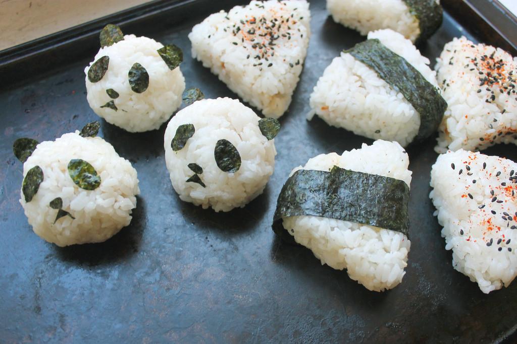 "<strong>Get the <a href=""http://food52.com/blog/9953-onigiri-101-how-to-make-japanese-rice-balls"" target=""_blank"">Panda head"
